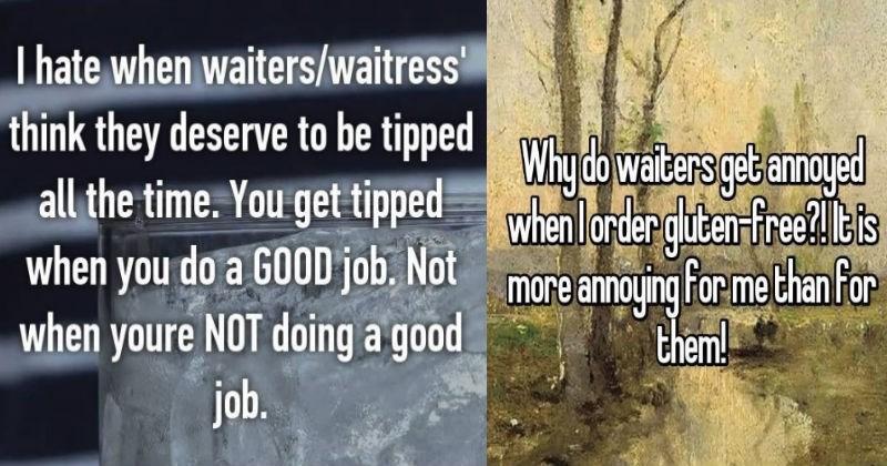 complaining customer service waiter restaurant food - 5454597