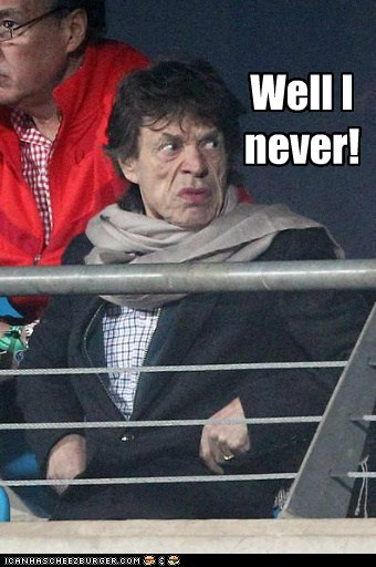 gross,grumpy,Hall of Fame,mick jagger,old,well I never
