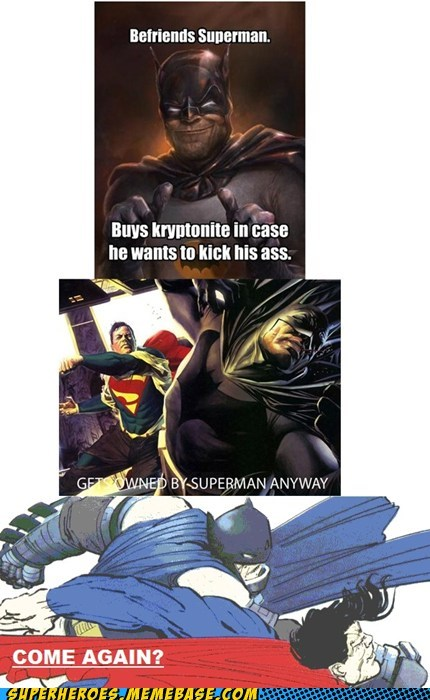 batman fight Super-Lols superman - 5454755072