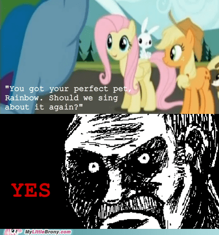 amazing,best of week,comics,fluttershy,pet,sing again,song,yay,yes