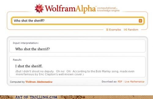 bob marley,lyrics,wolfram alpha