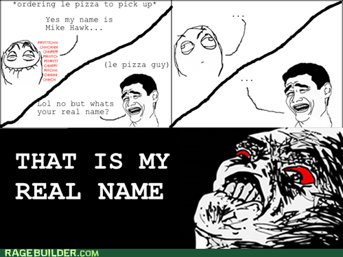 order pizza Rage Comics real name - 5456217600