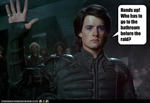 bathroom david lynch Dune kyle maclachlan paul atreides