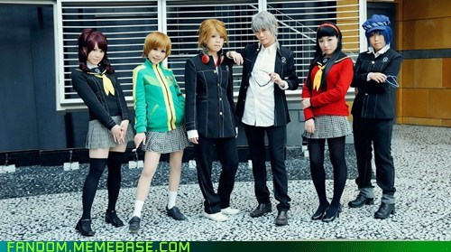 cosplay persona 4 protagonist video games - 5456931072