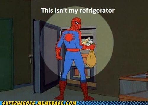cash refrigerator safe Spider-Man Super-Lols - 5458383360