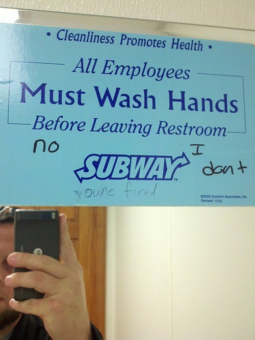promoting good hygiene washing hands youre-fire