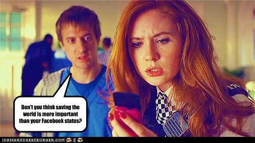 amy pond,arthur darvill,doctor who,facebook,karen gillan,rory williams