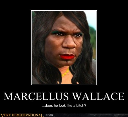 hilarious marcellus wallace Movie Sexy Ladies wtf