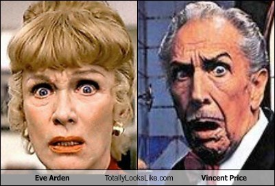 Eve Arden Totally Looks Like Vincent Price