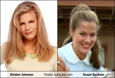 Kirsten Johnson Totally Looks Like Susan Buckner