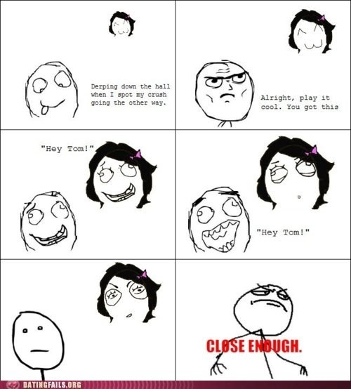 comic crush hello hi rage comic talking We Are Dating - 5460474880