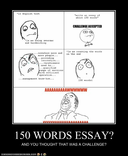 Words Essay  Cheezburger  Funny Memes  Funny Pictures Cheezburger Image  Buy Business Plans also Compare Contrast Essay Papers  Short Essays For High School Students