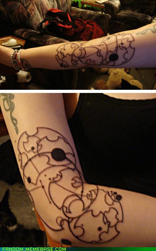 body art Fan Art tattoo Whovian - 5461213952