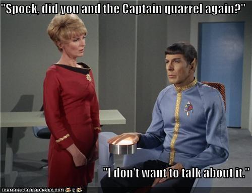 captain emotion Leonard Nimoy quarrel Spock Star Trek - 5461330688
