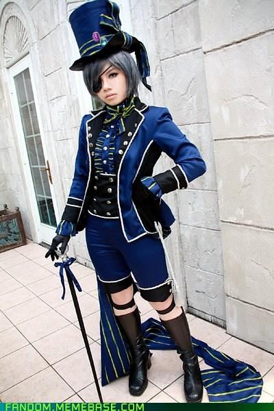 Ciel Phantomhive cosplay Kuroshitsuji manga - 5461402368