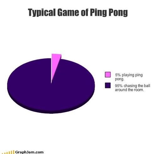 Typical Game of Ping Pong