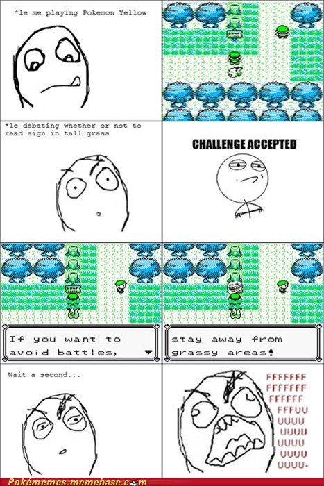 avoid battles fuuu grassy areas Rage Comics trainer tips troll trololololo - 5461969152