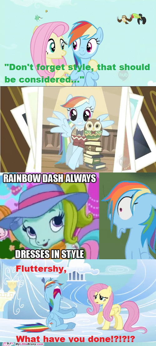 always in style meme no rainbow dash - 5462106624
