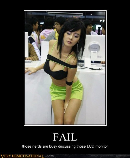 FAIL,hilarious,lcd,nerds,Sexy Ladies