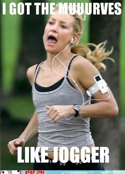 best of week derp jogging kate hudson moves like jagger - 5462587648