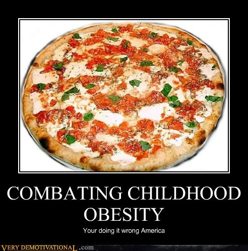 america Childhood Obesity hilarious pizza vegetable - 5462692608