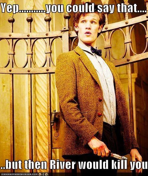 doctor who kill Matt Smith River Song the doctor - 5463044096