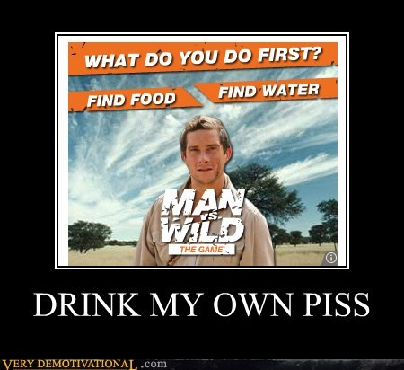 Ad bear grylls hilarious man vs wild - 5463540992