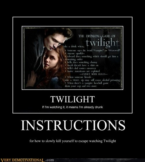 hilarious instructions kill suicide twilight - 5463713792