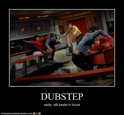 Captain Kirk dubstep future Leonard Nimoy Nichelle Nichols Spock Star Trek uhura William Shatner - 5463766272
