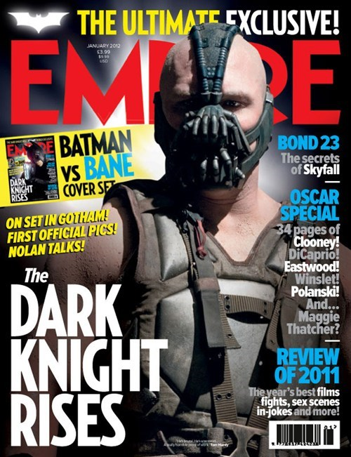 bane,batman,covers,empire,empire magazine,movies,superheroes,the dark knight rises