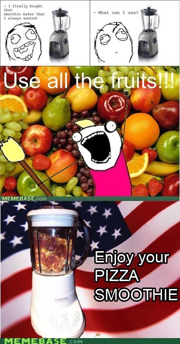 all the things,america,fruit,pizza,smoothie,vegetable