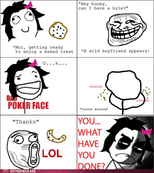 baking boyfriend cookies rage comic relationships unforgivable We Are Dating what have you done - 5464252416
