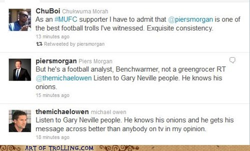 football,grocer,onions,Piers Morgan,twitter
