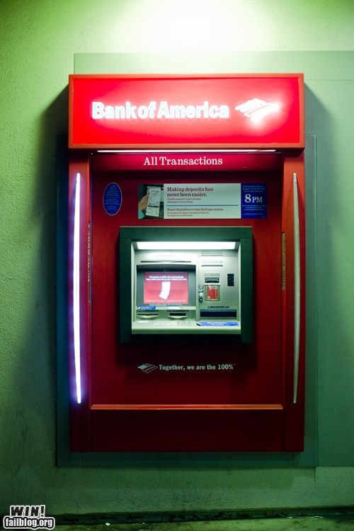 1 99 Ad Campaign ATM bank hacked irl Occupy Wall Street - 5464377088
