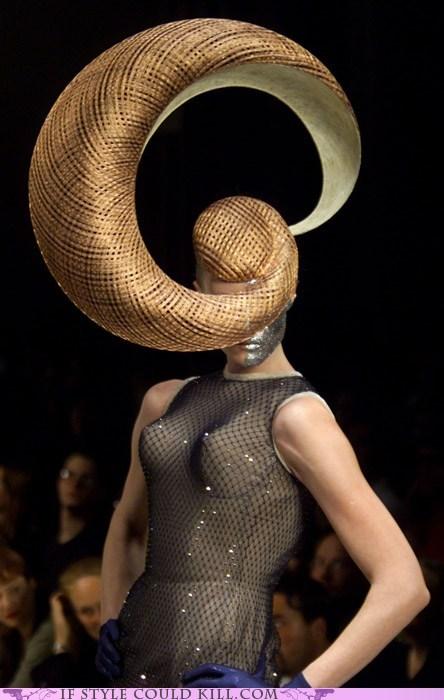 cool accessories hats philip treacy runway - 5464768768