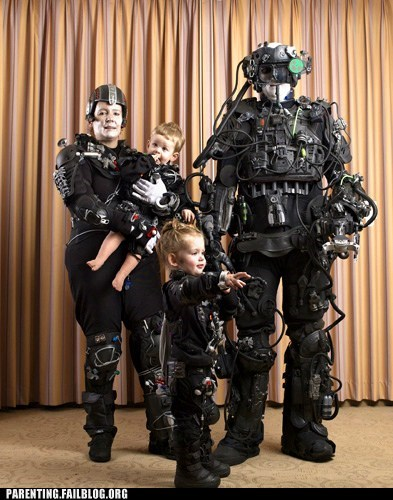 borg cosplay family family photo family portrait nerdgasm Parenting Fail parenting WIN Star Trek - 5464791040