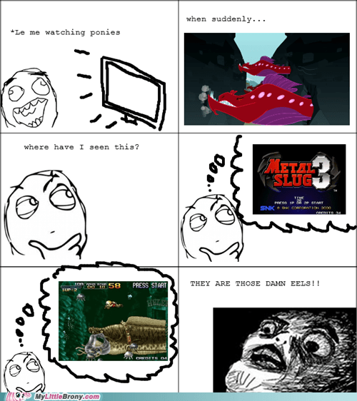 comics eels metal slug video games wrong route - 5465233920
