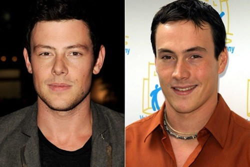 around the interwebs,chris klein,cory monteith,glee