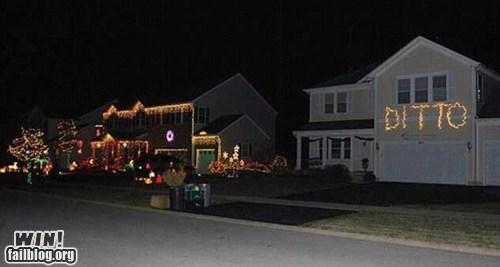 christmas christmas lights decorations Hall of Fame holidays lazy lights - 5465344256
