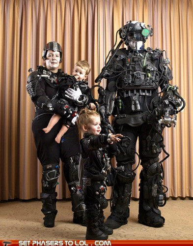 borg,cute,family photo,kids,Star Trek,youre-doing-it-right