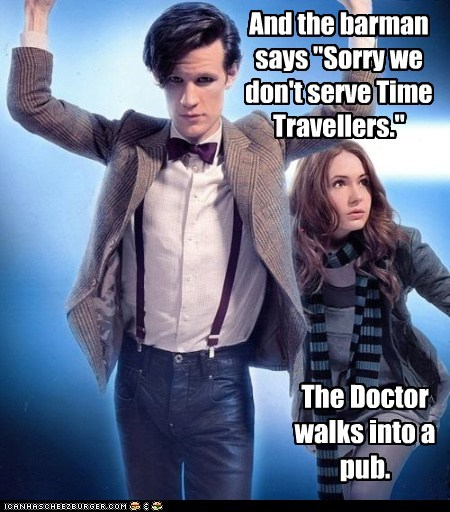 amy pond doctor who jokes karen gillan Matt Smith the doctor - 5465361152