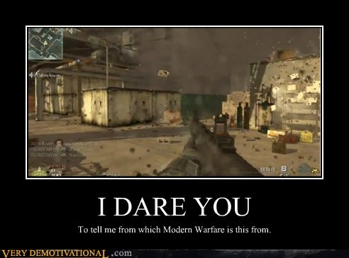 hilarious i dare you modern warfare video games - 5465422848