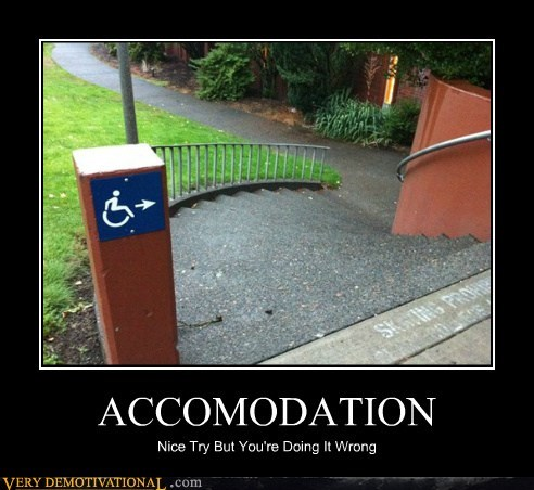 handicapped,idiots,stairs,wheelchair