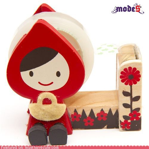 desk dispenser Little Red Riding Hood Office tape - 5465620480