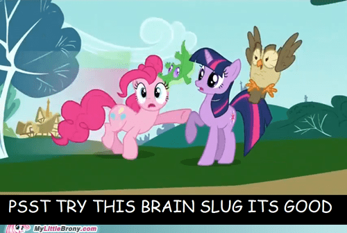 brain slugs gummy pets pinkie pie TV - 5466039552