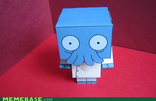 cool model neato paper Zoidberg - 5466169344