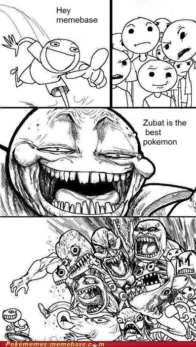best move meme Memes Pokémon supersonic troll zubat - 5466405120