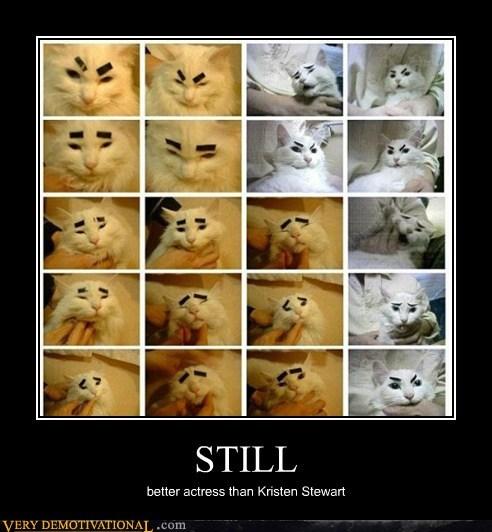 actress cat emotions Hall of Fame hilarious kristen stewart - 5466617600