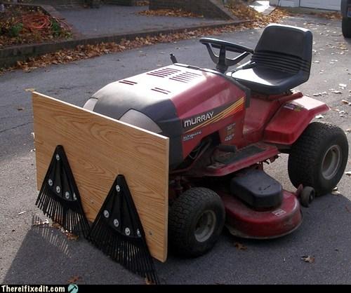 lawn mower neat rake - 5466624256