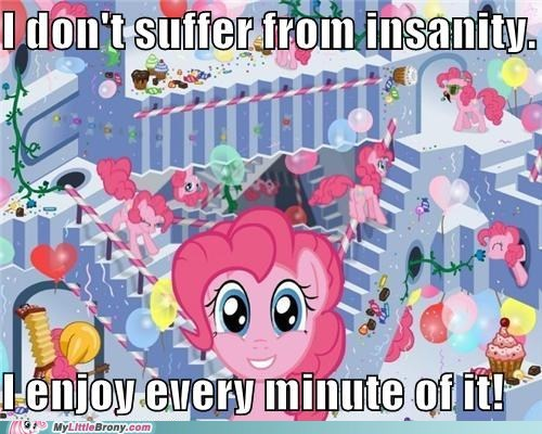 amusing best of week insane pinkie pie ponies - 5466919424